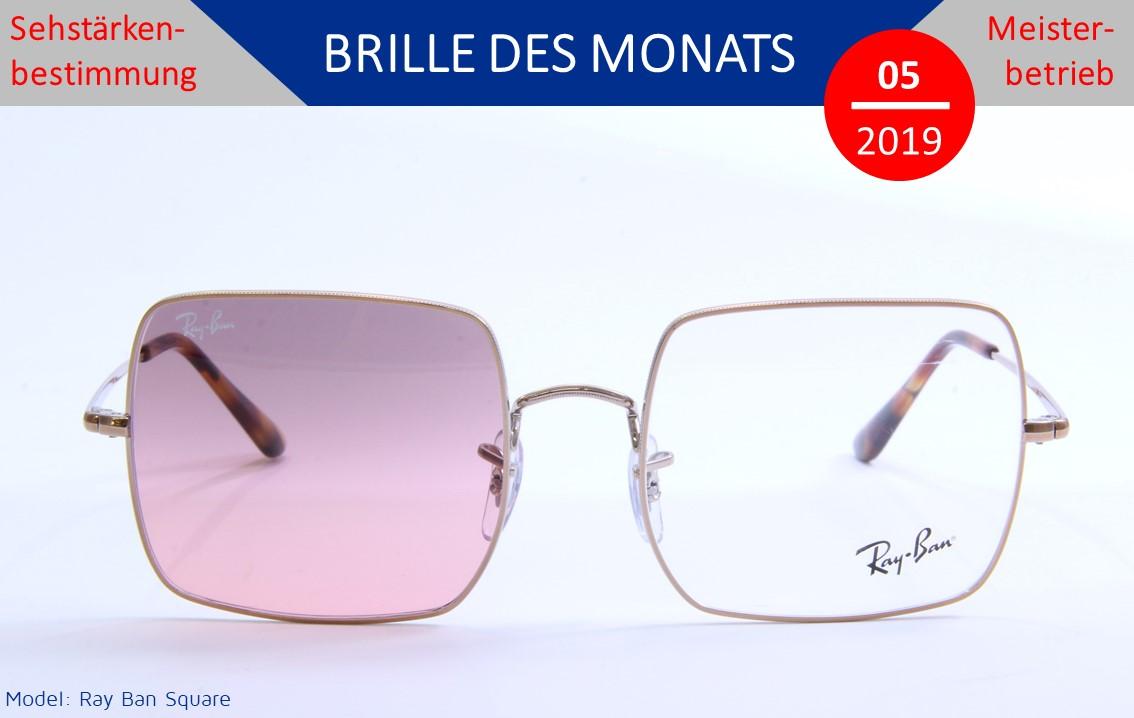 Blaue Sonnenbrille Spiegeln Strand Und Sonnige Urlaubswetter